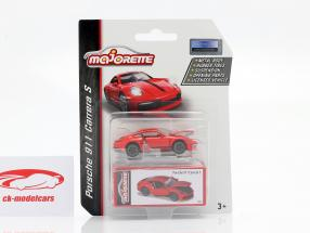 Porsche 911 Carrera S Speelgoedbeurs Neurenberg 2020 rood 1:64 Majorette