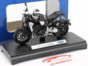 Honda CB 1000 R Bouwjaar 2018 zwart 1:18 Welly