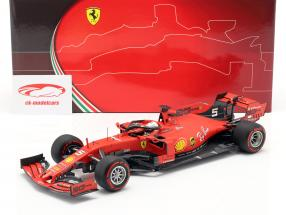 Sebastian Vettel Ferrari SF90 #5 Italian GP formula 1 2019 1:18 BBR