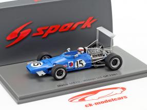 Jackie Stewart Matra MS10 #15 Vencedora Estados Unidos GP Fórmula 1968 1:43 Spark