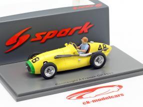 Johnny Claes Connaught A #48 francese GP formula 1 1953 1:43 Spark