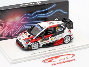 Toyota Yaris WRC #69 5th Rallye Monte Carlo 2020 Rovanperä, Halttunen 1:43 Spark