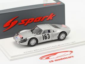 Porsche 904 Carrera GTS #163 Rallye Monte Carlo 1965 Toivonen, Järvi 1:43 Spark