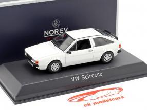 Volkswagen VW Scirocco II year 1981 white 1:43 Norev
