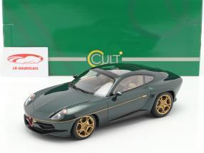 Alfa Romeo Disco Volante by Touring 2013 mørkegrøn metallisk 1:18 Cult Scale