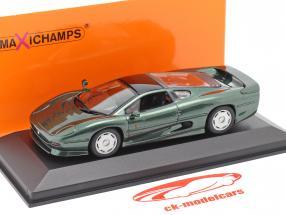 Jaguar XJ220 Bouwjaar 1991 donkergroen metalen 1:43 Minichamps