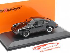 Porsche 911 SC Coupe Anno di costruzione 1979 nero 1:43 Minichamps