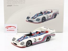 J. Ickx Porsche 935/76 #3 Vencedor 1000km Monza 1976 Martini Racing 1:18 TrueScale