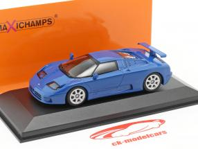 Bugatti EB 110 ano 1994 azul 1:43 Minichamps
