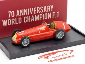Juan Manuel Fangio Alfa Romeo 158 #1 Gran Bretaña GP fórmula 1 1950 1:43 Brumm