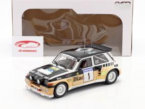 Renault Maxi 5 Turbo #1 Winnaar Rallye du Var 1986 Chatriot, Perin 1:18 Solido