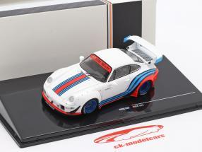 Porsche 911 (993) RWB Rauh-Welt Martini Branco 1:43 Ixo
