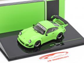 Porsche 911 (930) RWB Rauh-Welt brilhante verde 1:43 Ixo