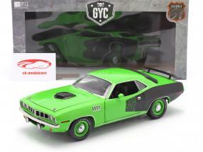 Plymouth Cuda 392 Hemi Sema TV-Serie Graveyard Carz 2012 grün 1:18 Highway61