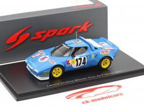Lancia Stratos HF #174 Gagnant Tour de France 1977 Darniche, Mahe 1:43 Spark