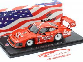 Porsche 935 #6 3 ° 12h Sebring 1984 Bell, Foyt, Wollek 1:43 Spark