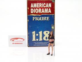 paddock ragazza cifra 1:18 American Diorama