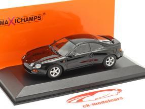 Toyota Celica jaar 1994 zwart 1:43 Minichamps
