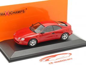 Toyota Celica año 1994 rojo 1:43 Minichamps