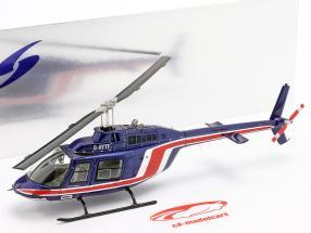 Team Lotus Helicóptero equipo Essex fórmula 1 1981 azul / rojo 1:43 Spark