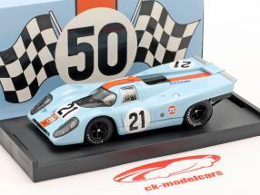 Golfo Porsche 917K #21 Rodriguez & Kinnunen 24h Le Mans 1970 1:43 Brumm