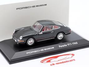Porsche 911 (original model) 1965 grå 1:43 Welly