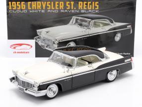 Chrysler St. Regis Costruzione anno 1956 nube bianca / Corvo nero 1:18 GMP