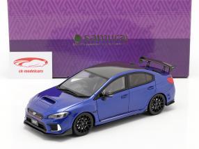 Subaru STI S208 NBR Challenge Byggeår 2018 blå 1:18 Kyosho
