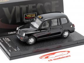 TX1 London Taxi Cap year 1998 black 1:43 Vitesse