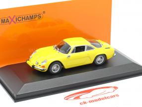Renault Alpine A110 år 1971 gul 1:43 Minichamps