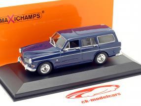 Volvo 121 Amazon Break anno 1966 buio blu 1:43 Minichamps
