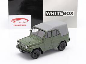 UAZ 469 oliven grøn 1:24 WhiteBox