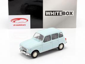 Renault 4L light blue 1:24 WhiteBox