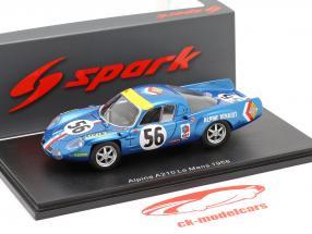 Alpine A210 #56 24h LeMans 1968 Marnat, Gerbault 1:43 Spark