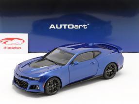 Chevrolet Camaro ZL1 Ano de construção 2017 hyper azul metálico 1:18 AUTOart