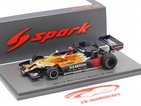 Jan Lammers Shadow DN9 #17 Entraine toi Monaco GP formule 1 1979 1:43 Spark