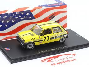 Renault 5 #77 IMSA RS 1980 Patrick Jacquemart 1:43 Spark