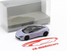 McLaren 720S gris 1:87 Minichamps