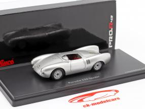Porsche 550 Spyder Baujahr 1954 silber 1:43 Schuco