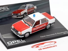 Opel Ascona C Bombeiros ano 1982-1988 1:43 Altaya