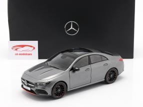 Mercedes-Benz CLA Coupé (C118) Año de construcción 2019 montaña gris 1:18 Z-Models