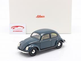Volkswagen VW Escarabajo de pretzel 1948 - 1953 azul 1:18 Schuco