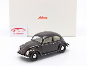 Volkswagen VW Pretzel beetle 1948 - 1953 dark red 1:18 Schuco