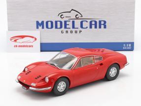 Ferrari Dino 246 GT Année de construction 1969 rouge 1:18 Model Car Group