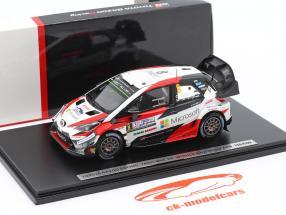 Toyota Yaris WRC #8 vinder Rallye Argentina 2018 Tänak, Järveoja 1:43 Spark