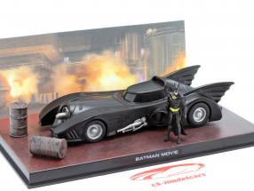 Batmóvel Moviecar Batman 1989 preto 1:43 Ixo Altaya