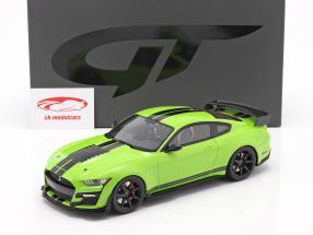 Ford Shelby GT500 Coupe Anno di costruzione 2020 Grabber Lime 1:18 GT-Spirit