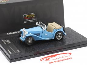 MGTC Open year 1946 clipper blue 1:43 Vitesse