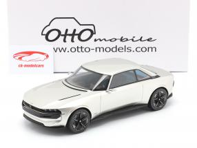 Peugeot E-Legend Concept Car 2019 silver 1:18 OttOmobile