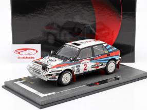 Lancia Delta Integrale HF #2 vincitore Safari Rallye 1989 1:18 BBR